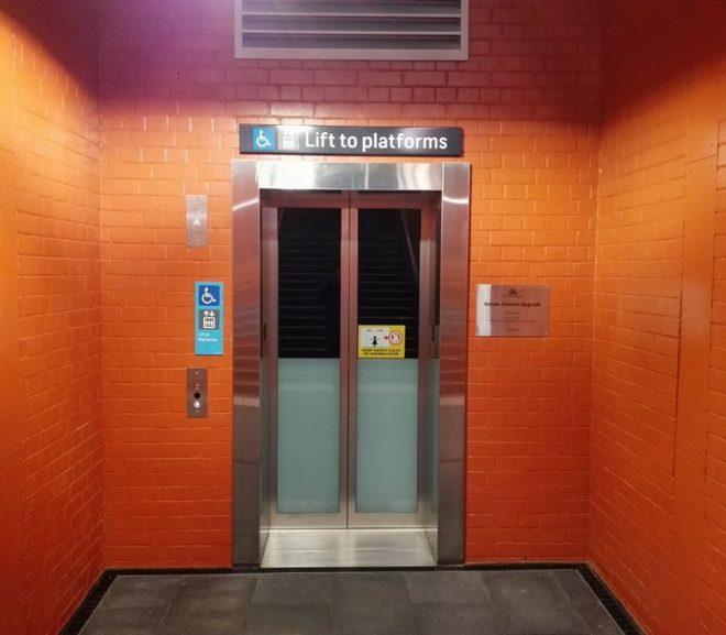 Berala Station Lift Is Open