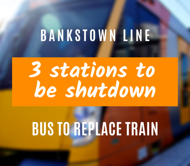 Government plans to shut 3 Bankstown Line stations