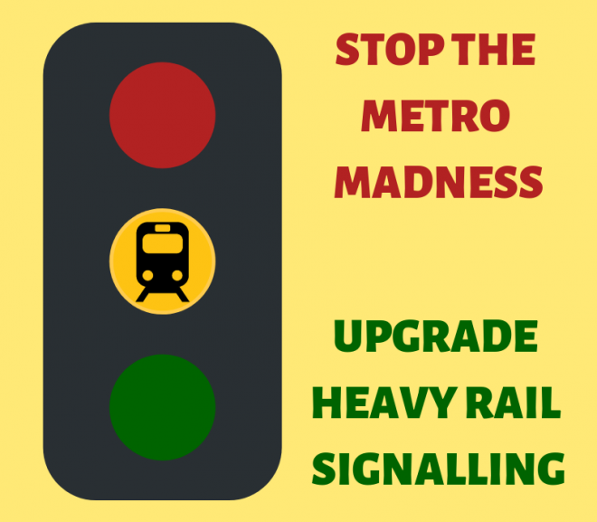 Upgraded Signalling Provides More Trains Than Metro