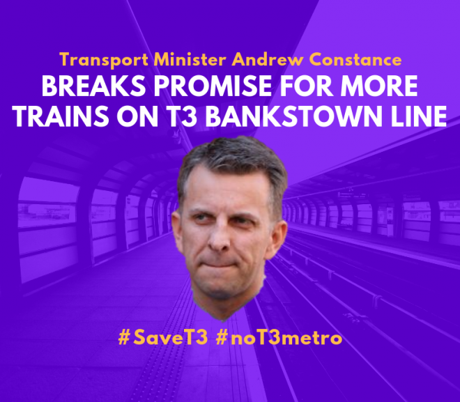 Government Cancels Additional Trains for Bankstown Line