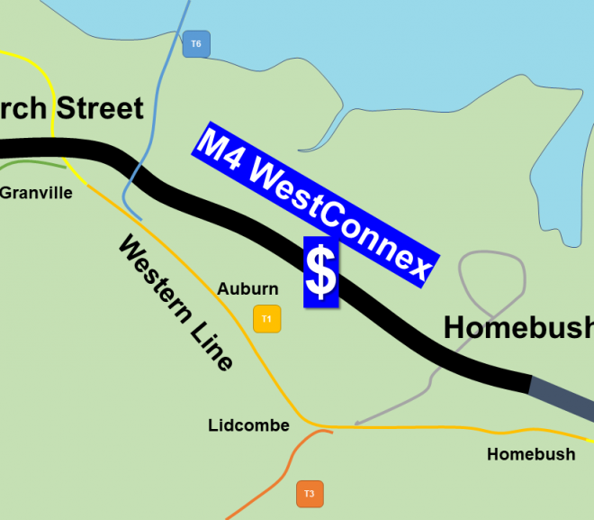 Western Line Upgrade dumped for WestConnex Tolls